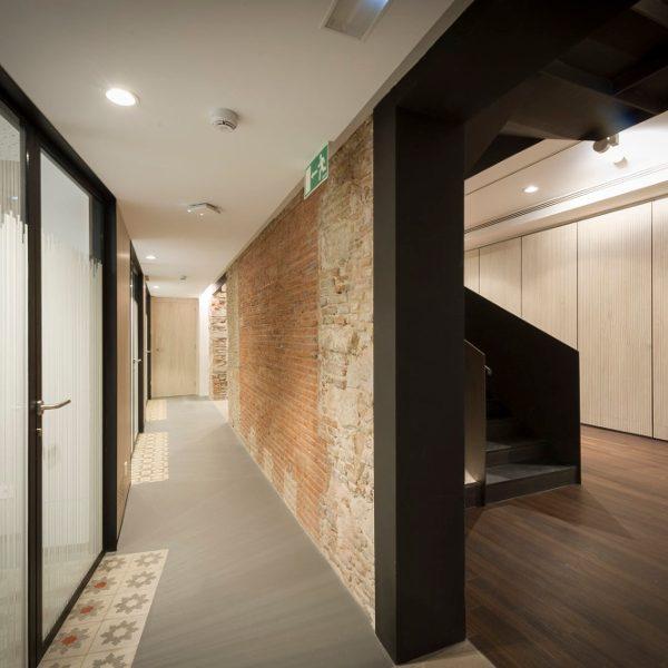 Rehabilitació seu Fundació l'Esperança – Barcelona